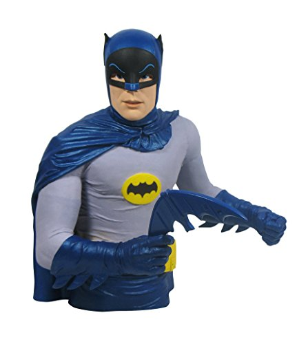 Batman Bank Bust - Diamond Select Toys Batman 1966 Classic TV Series Vinyl Bust Bank