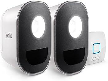 2-Pack Netgear Arlo Smart Home Security Light Kit