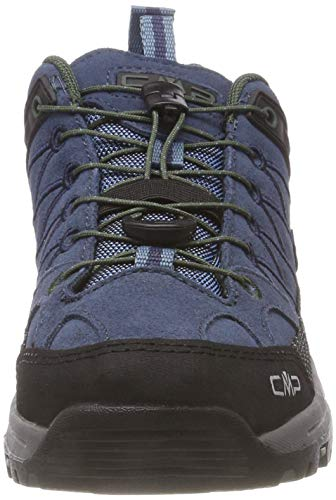 Rise Shoes Adults' Maiolica Blue kaky Low High Rigel CMP Unisex Campagnolo 79bn Blue Wp Hiking Eqgvz0