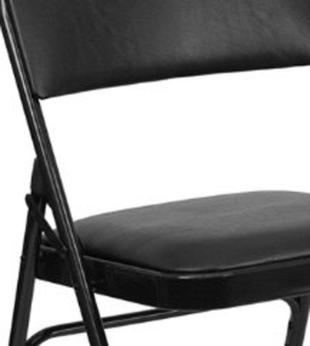 4-Pack-Beige-Vinyl-Folding-Chairs-Metal-Frame