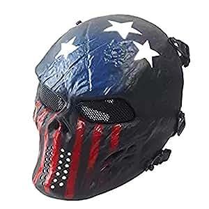 Chief M06 iron skull full face mask real CS horror mask movie props