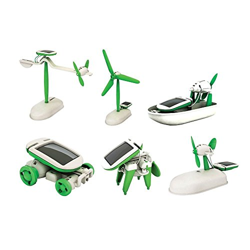 Unobite 6 in 1 Educational Solar Power Toys