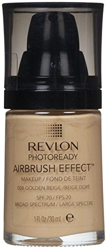Revlon PhotoReady Airbrush Effect Makeup, Golden Beige