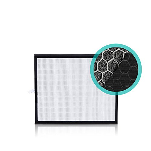 Alen HEPA-FreshPlus Replacement filter for the BreatheSmart FIT50 Air Purifier removes Mold, Bacteria, and Dust mites while creating an allergy-and asthma-friendly environment, FF50-VOC-3, 3-Pack