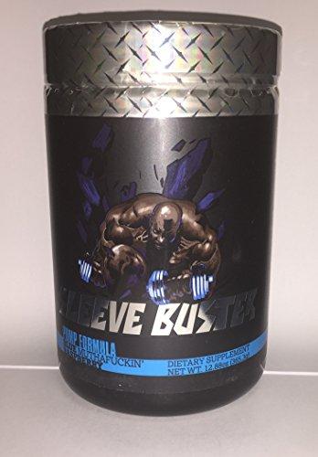 Sleeve Buster | Pump Formula 30 Servings | Blue Muthaf*cking Raspberry | Iron Addicts Brand | CT Fletcher