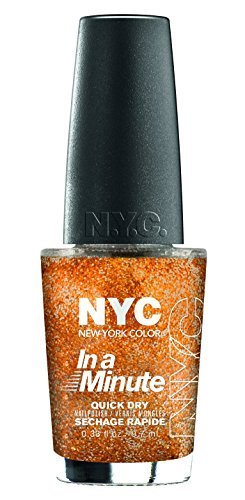 N.Y.C. New York Color In A Ny Color Minute Nail Polish, Fashion Queen, .66 Fluid Ounce by - Queens Stores In Ny