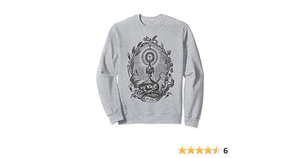 Holy Sacrament Eucharistic Adoration Catholic Vintage Sweatshirt