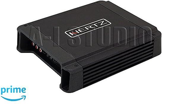 Hertz HCP 4D - Amplificador de 4 canales (1160 W), color negro: Amazon.es: Electrónica