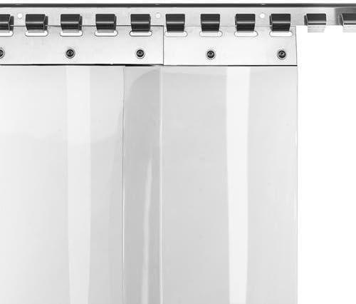 Cortina de láminas de PVC de 20 cm de ancho, disponible en varios ...