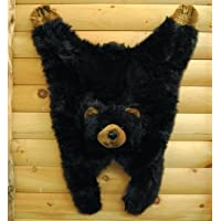 Soft And Cuddly Cute Black Bear Floor Throw Area Rug (Great Kids Rug) 42'