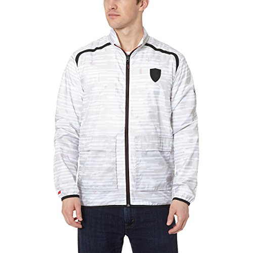 Puma Mens Ferrari Lightweight Jacket X-Large - Ferrari Jacket White
