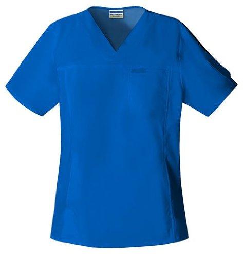 UPC 737314203376, Skechers 25750 Adult's V-Neck Scrub Top Royal Blue XX-Large