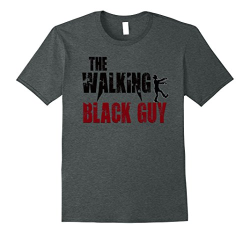 Nerd Costume Ideas For Guys (Mens Black guy gift t shirts walking color guys zombies b day tee Medium Dark Heather)