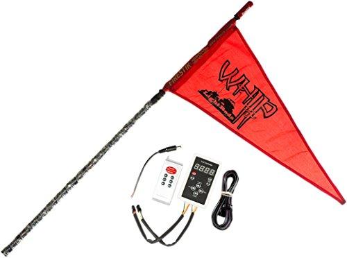 Whip It Light Rods 3-107DERF Light Rod ( Whip 7'' Black Rf)
