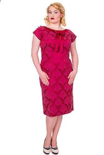Apparel rot Variante Banned rot Kleid Schlauch Damen gCddwPqfn