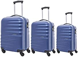 Save 50% on American Tourister hardshell luggage set of 3 pieces