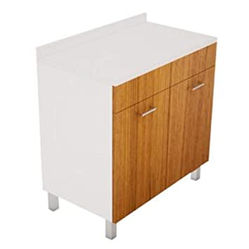Mobile BASE per lavello Cucina Modello PRATIKA cm 80 x 50 ...