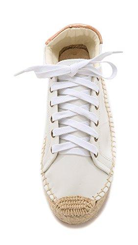 Fashion Sneaker Women's Tennis Platform White Soludos PTfR0qn