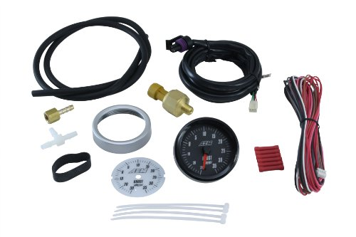 AEM 30-5132 -30-35PSI SAE Boost Analog Gauge ()
