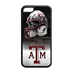 WY-Supplier Best NCAA Texas A&M Aggies logo Case Perfect Fit For Apple iphone 5c Shopping Macket, Texas A&M Aggies phone case vazza TPU case