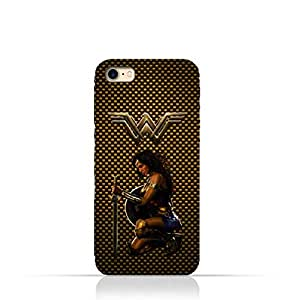 iPhone 7 TPU Silicone Protective Case with Wonder Woman Design