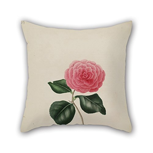 16 X 16 Inches / 40 By 40 Cm Flower Pillowcover ,both Sides Ornament And Gift To Wife,birthday,valentine,dinning Room,her,wife