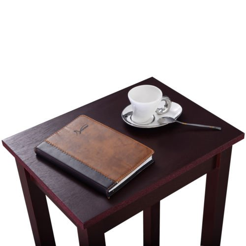 Brown Tall End Table Coffee Stand Side Desk by Nikkycozie (Image #2)
