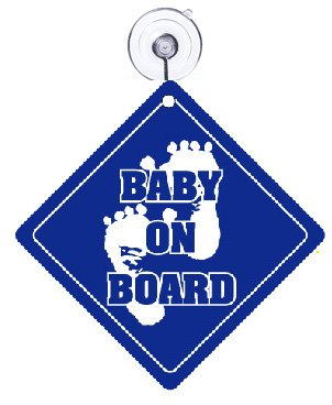 Amazon.com: Baby On Board y Bebé Dormir Cartel para puerta ...