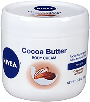 Nivea Cocoa Butter Body Cream for Dry Skin To Very Dry Skin, 15.5 Ounce