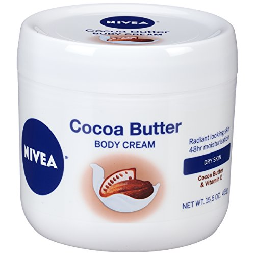 Price comparison product image Nivea Cocoa Butter Body Cream, 15.5 Ounce
