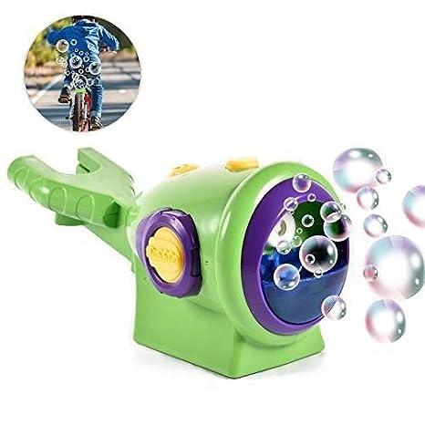 FANPING Burbuja Moto Niños máquina automática de Ventilador de la Burbuja de Juguete de Regalo for Bodas, Fiestas y cumpleaños: Amazon.es: Hogar