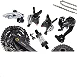 SHIMANO M370 variable speed kit 9 speed / 27 speed mountain bike transmission large package