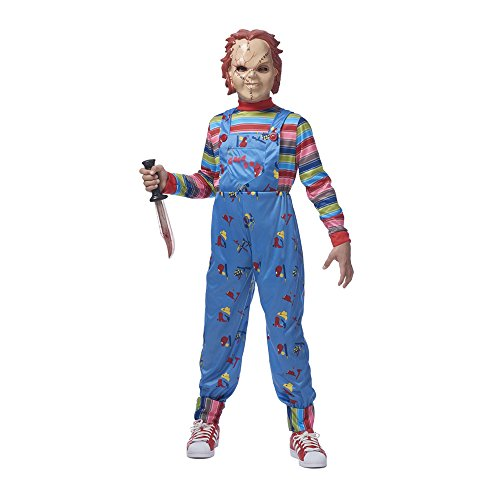 Scary Doll Costumes For Kids - Chucky Boys Costume -