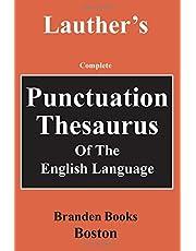 Punctuation Thesaurus of the English Language