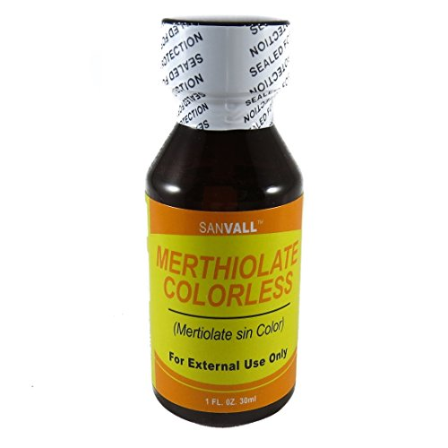 Sanvall Merthiolate Colorless 1 - Shipping International Flat Rate