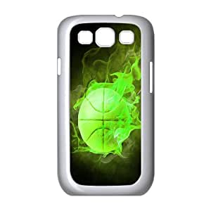 ZK-SXH - Fire basketball Personalized Phone Case for Samsung Galaxy S3 I9300, Fire basketball Customized Phone Case