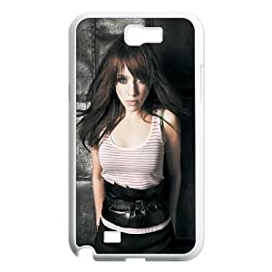 Samsung Galaxy N2 7100 Cell Phone Case White Alexz JohnsonSLI_790653