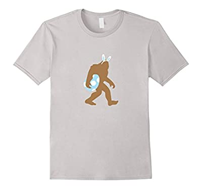 Bigfoot Easter Bunny Shirt, Funny Cute Sasquatch Egg Gift