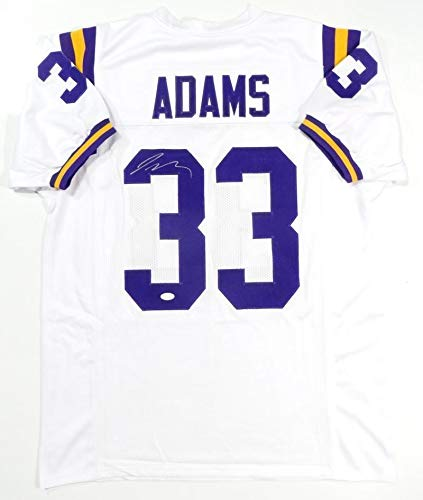 more photos 5bcd2 a95d5 Jamal Adams Autographed White College Style Jersey- JSA ...
