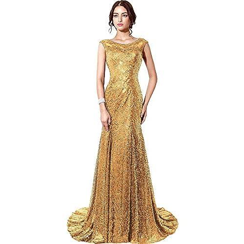 Plus Size Gold Evening Dresses: Amazon.com