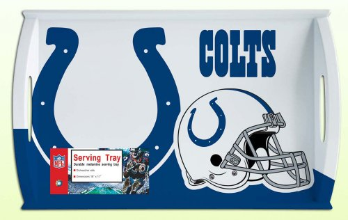 Siskiyou NFL Indianapolis Colts Melamine Serving Tray