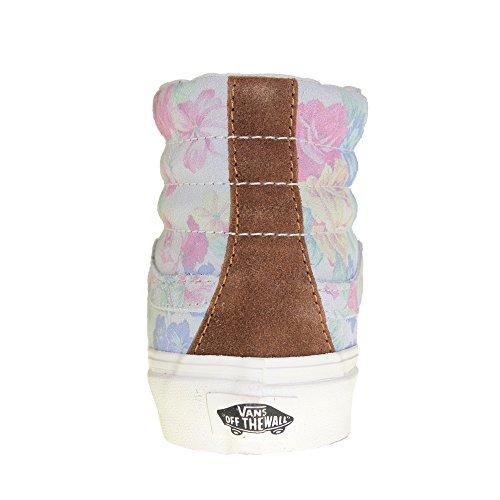 VANS - Sneaker SK8-HI-SLIM - suede floral marshmallow, Dimensione:41