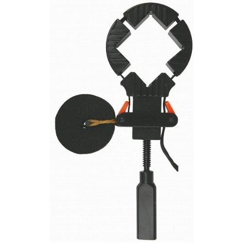 4 meter Bandspanner mit 4 Ecken, Spannhilfe Rahmenspanner, Zwinge