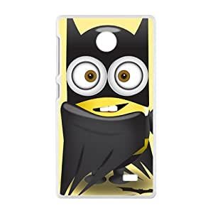 Lovely black cloth Minions Cell Phone Case for Nokia Lumia X