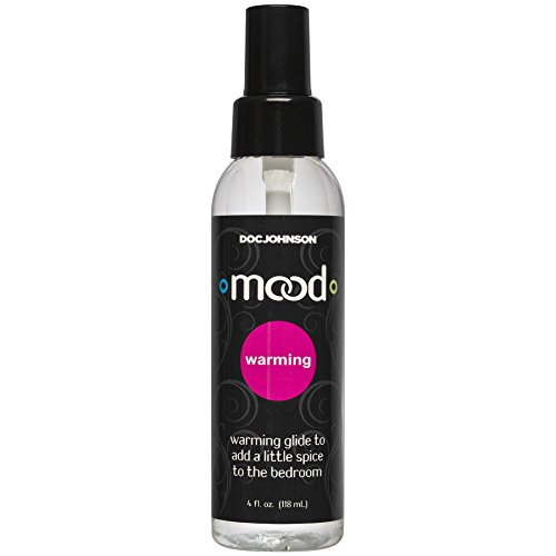 (Doc Johnson Mood - Warming Glide - Gets Warmer with Motion - Compatible With All Condoms and Toys - Contains Glycerine - 4 fl oz (118 ml) )