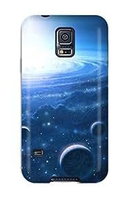 BenjaminHrez Perfect Tpu Case For Galaxy S5/ Anti-scratch Protector Case (quasar)