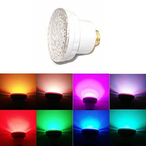 LAMPAOUS LED Pool Lights Bulb, RGB Muliti Color LED Spa Lights, E26 Base Par 56 Replacement Bulb 120VAC 15 (120v Spa Light)