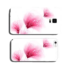 Vector background with flowers cell phone cover case iPhone6