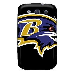 Galaxy S3 Case Cover Skin : Premium High Quality Baltimore Ravens Case