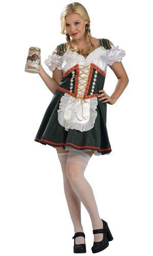 Beer Garden Girl Costume - Plus Size - Dress Size ()